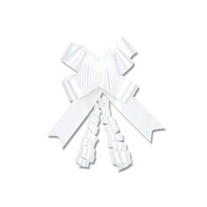 HEIKO リボンボウ #01ホワイト 15mm×35 cm 50枚入|flowernana