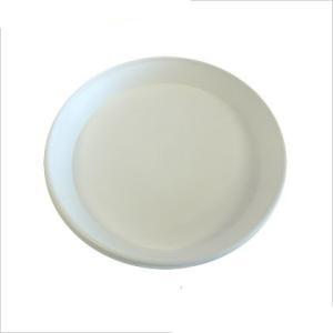 明和フラワーポット セラアートシリーズ 皿 M ホワイト 1個|flowernana