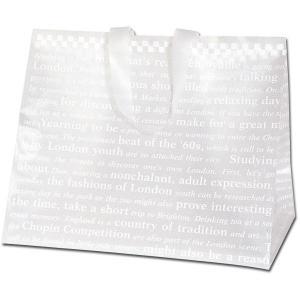 HEIKO HDポリチャームバッグ チェッカー Wタイプ L アレンジ袋 1枚 ポリ袋|flowernana