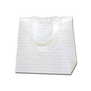HEIKO HDポリチャームバッグ チェッカー Wタイプ S アレンジ袋 1枚 ポリ袋|flowernana