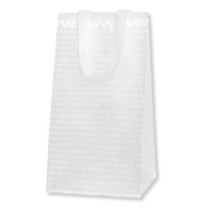 HEIKO HDポリチャームバッグ チェッカー Wタイプ ロングS アレンジ袋 1枚 ポリ袋|flowernana