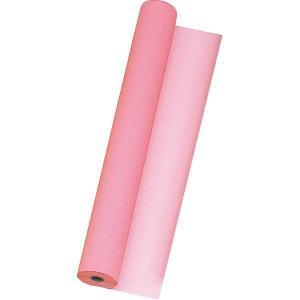 東京リボン ビスクレープ #5 ローズピンク×シェルピンク リバーシブル ラッピングペーパー 74cmx20m 包装紙 東京リボン|flowernana