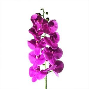 プレゼント 花 ギフト 造花 胡蝶蘭 L95cm ピンク フラワー A22 1本|flowernana
