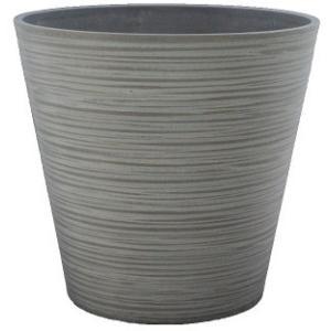 エコ・フレンドリーポット EGP4038LCH 10号鉢カバー ライトチャコール 1個|flowernana