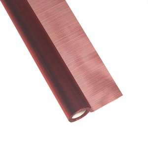HONG シルキー ロール No.3 レッド ラッピングペーパー 47cm×10m 包装紙|flowernana