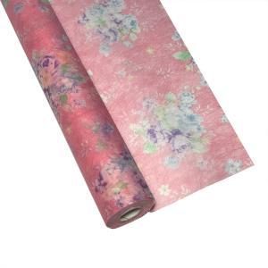 HONG 恋 フィリング ロール No.1 レッド ラッピングペーパー 60cm×20m 包装紙|flowernana