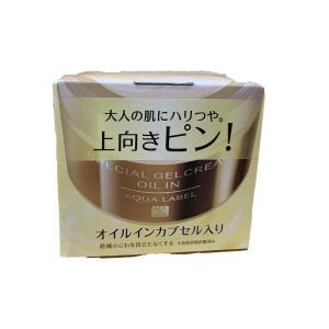 アクアレーベル スペシャルジェルクリーム (オイルイン) エイジングケアタイプオールインワン 90g|flowernana
