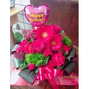 赤いガーベラと季節のお花を使ったおまかせアレン...の関連商品5