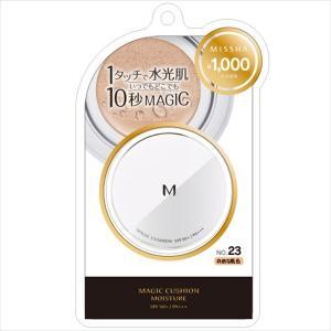 ミシャM クッション ファンデーション モイスチャー No.23 自然な肌色 SPF50+/PA+++|flppr