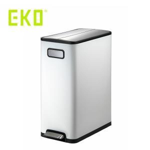 EKO イーケーオー エコ エコフライ ステップビン 20L+20L ホワイト EK9377 MP-20+20L-WH|flppr