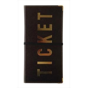 チケットホルダー チケット TICKET ×5個セット|flppr