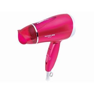 コイズミ ヘアドライヤー マイナスイオン 海外対応 ビビッドピンク KDD-0017/VP|flvffymene
