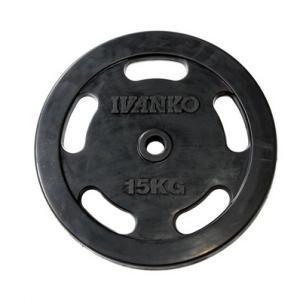 IVANKO RUBKZラバースタンダードプレート 15kg φ28mm