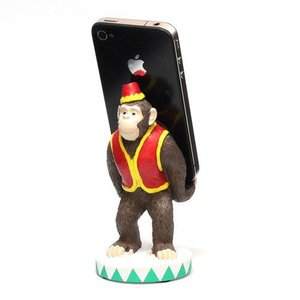 SMART PHONE STAND CIRCUS CHIMPANZEE (スマート フォン スタンド サーカス チンパンジー)|flyers