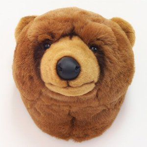 ■ ANIMAL HEAD BROWN BEAR (アニマル ヘッド ブラウン ベアー) 【送料無料】|flyers