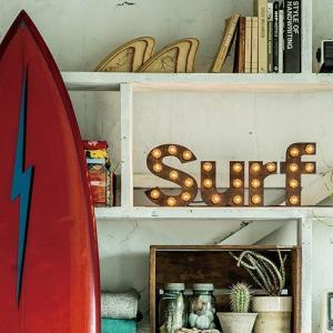 SURF SIGN STAND LAMP (サーフサイン スタンド ランプ) AW-0404V 【送料無料】 【ポイント10倍】 【AWS】|flyers