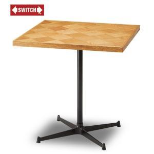 【SWITCH】 CHECKER CAFE TABLE (スウィッチ チェッカー カフェ テーブル) 【送料無料】 【ポイント10倍】|flyers