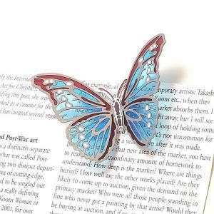 BUTTERFLY MAGNET S LIGHT BLUE (バタフライ マグネット S ライトブルー)|flyers