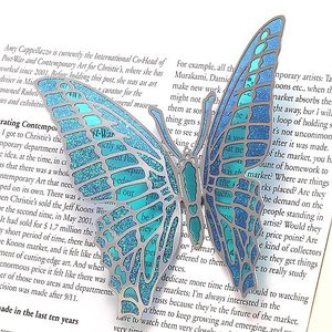 BUTTERFLY MAGNET L BLUE (バタフライ マグネット L ブルー)|flyers