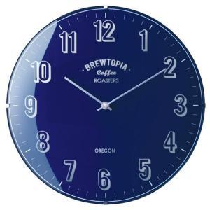 BOULIAC WALL CLOCK NAVY (ブリアック ウォール クロック ネイビー) CL-1374NV 【送料無料】 【ポイント5倍】 【IF】 flyers