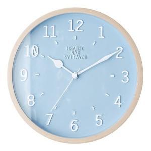 NORSJO WALL CLOCK BLUE (ノルシェ ウォール クロック ブルー) CL-1688BL 【送料無料】 【ポイント5倍】 【IF】|flyers