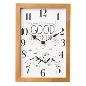 GOOD MORNING & GOOD NIGHT CLOCK (グッドモーニング & グッドナイト クロック) CL-1692 【ポイント5倍】 【IF】|flyers