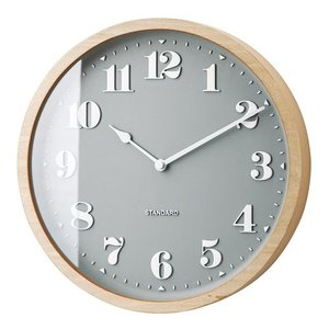 TWEDT WALL CLOCK NATURAL (トヴェット ウォール クロック ナチュラル) CL-2125NA 【送料無料】 【ポイント5倍】 【IF】|flyers