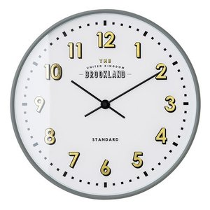 LORETTO WALL CLOCK GRLY (ロレト ウォール クロック グレー) CL-2542GY 【送料無料】 【ポイント5倍】 【IF】 flyers
