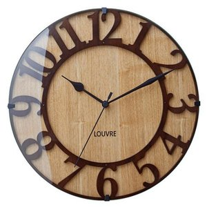MUSEE WALL CLOCK WOOD (ミュゼ ウォール クロック ウッド) CL-8333 【送料無料】  【ポイント5倍】 【IF】|flyers