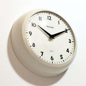 THICK WALL CLOCK IVORY (チックウォールクロック アイボリー) 【ポイント3倍】|flyers