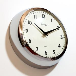 THICK WALL CLOCK CHROME (チックウォールクロック クローム) 【ポイント3倍】|flyers
