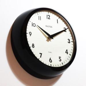 THICK WALL CLOCK BLACK (チックウォールクロック ブラック) 【ポイント3倍】|flyers