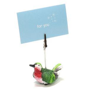 CARD STAND HUMMINGBIRD (カード スタンド ハミングバード ハチドリ)|flyers