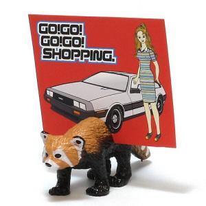 CARD STAND ANIMAG LESSER PANDA (カード スタンド アニマグ レッサーパンダ)|flyers