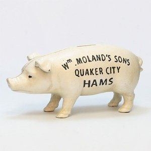 HAMS STANDING PIG BANK (ハムズ スタンディング ピッグ バンク)|flyers