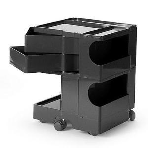 正規輸入品 BOBY WAGON 2×2 BLACK (ボビーワゴン 2段2トレイ ブラック) 【送料無料】 【ポイント10倍】 flyers