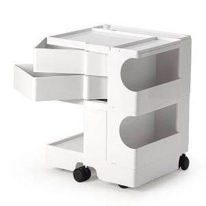 正規輸入品 BOBY WAGON 2×2 WHITE (ボビーワゴン 2段2トレイ ホワイト) 【送料無料】 【ポイント10倍】 flyers