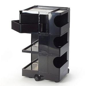正規輸入品 BOBY WAGON 3×2 BLACK (ボビーワゴン 3段2トレイ ブラック) 【送料無料】 【ポイント10倍】 flyers