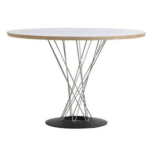 CYCLONE TABLE WHITE×NATURAL (サイクロン テーブル ホワイト×ナチュラル) 【送料無料】|flyers