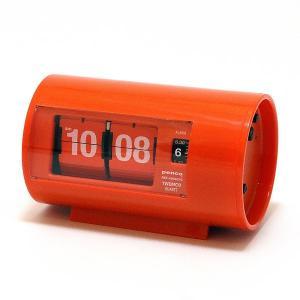 TWEMCO AP-28 PATAPATA CLOCK PENCO ORANGE (トゥウェンコ AP-28 パタパタ クロック ペンコ オレンジ) 【送料無料】 【ポイント10倍】 flyers