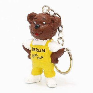KEYCHAIN BERLIN GEHTRAN BEAR YELLOW (キーチェーン ベルリン ゲットラン ベアー イエロー) flyers