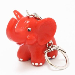 KEYCHAIN METZELER ELEPHANT RED (キーチェーン メッツラー エレファント レッド)|flyers