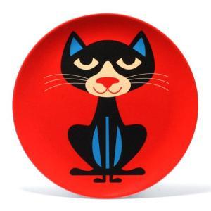 OMM DESIGN MELAMINE PLATE CAT (OMM デザイン メラミン プレート キャット)|flyers