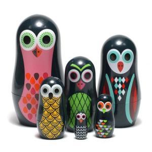 ■ OMM DESIGN POCKET MATRYOSHKA OWL (OMM デザイン ポケット マトリョーシカ オウル)|flyers