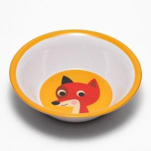 OMM DESIGN MELAMINE BOWL FOX (OMM デザイン メラミン ボウル フォックス)|flyers