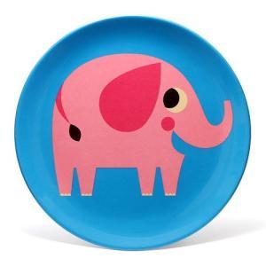 OMM DESIGN MELAMINE PLATE ELEPHANT (OMM デザイン メラミン プレート エレファント)|flyers
