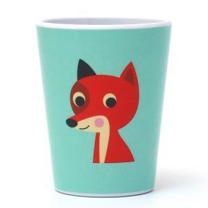 ■ OMM DESIGN MELAMINE TUMBLR FOX WITH MINT (OMM デザイン メラミン タンブラー フォックス ウィズ ミント)|flyers