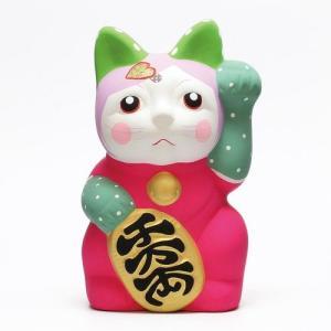 DOTS MANEKI NEKO MINT (ドット 招き猫 ミント)|flyers