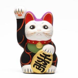 KARAKUSA MANEKI NEKO BLACK (唐草 招き猫 ブラック 黒唐草)|flyers