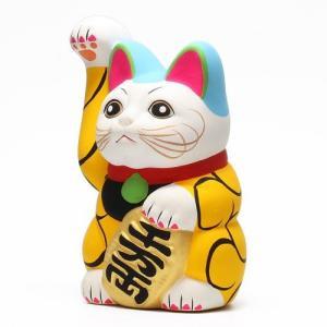 ■ KARAKUSA MANEKI NEKO YALLOW (唐草 招き猫 イエロー 黄唐草)|flyers|04